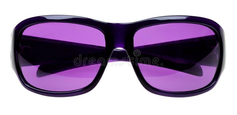 Óculos de sol isolados no branco imagem de stock royalty free
