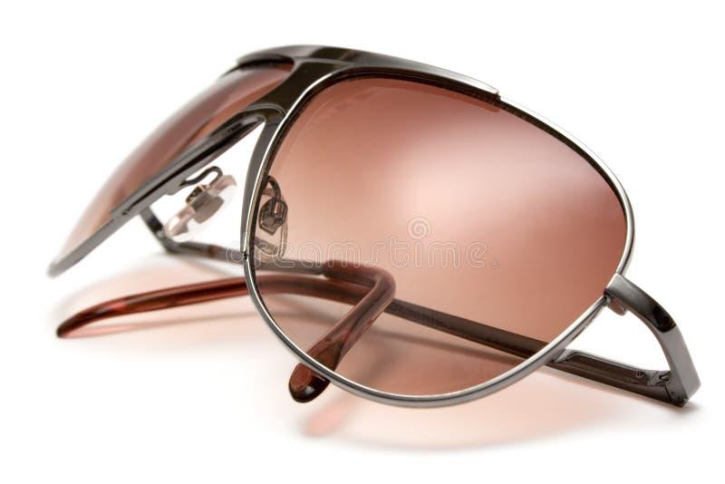 Óculos de sol (vista lateral próxima) imagens de stock