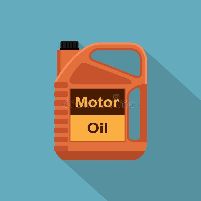 Óleo de motor ilustração do vetor