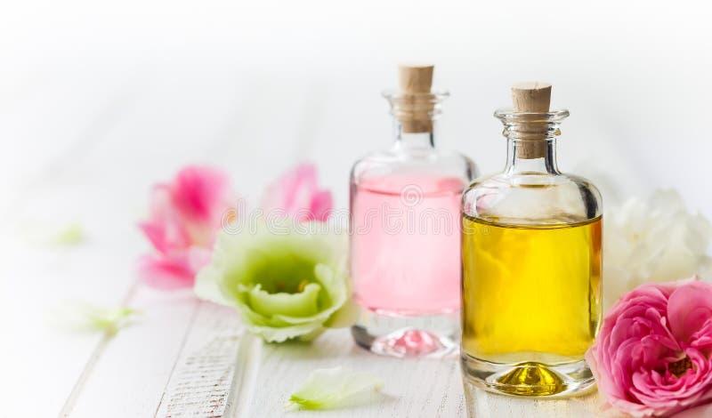 Óleo essencial do aroma fotos de stock royalty free