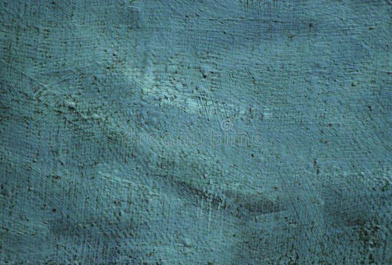 Óleo interior da pintura moderna na lona, textura, fundo ilustração stock
