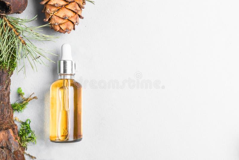 Óleos homeopaticamente, suplementos dietéticos para os cosméticos naturais da saúde intestinal, óleos para cuidados com a pele em fotografia de stock royalty free