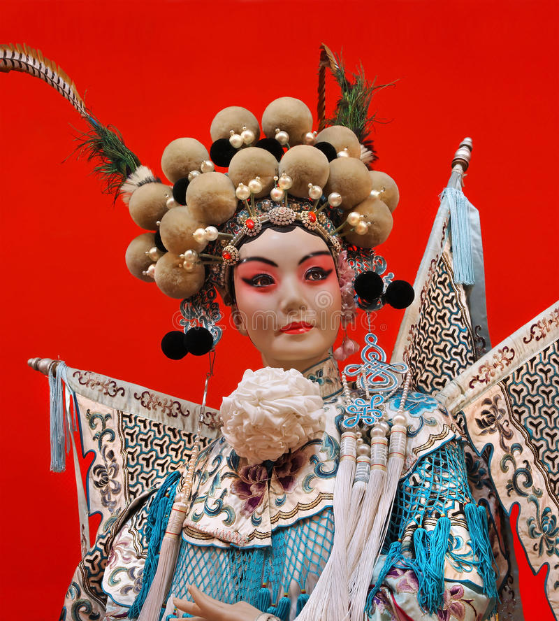 Ópera china imagen de archivo libre de regalías