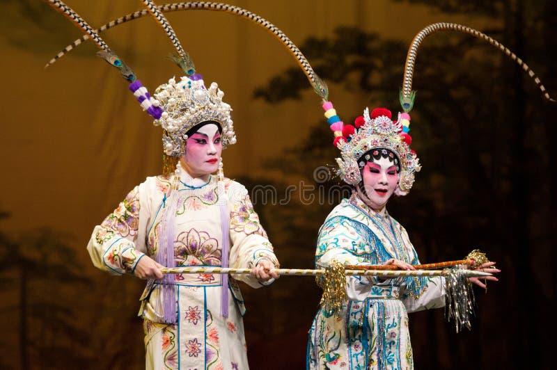 Ópera chinesa imagens de stock