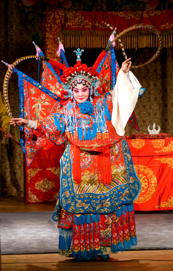 Ópera de Beijing imagem de stock royalty free