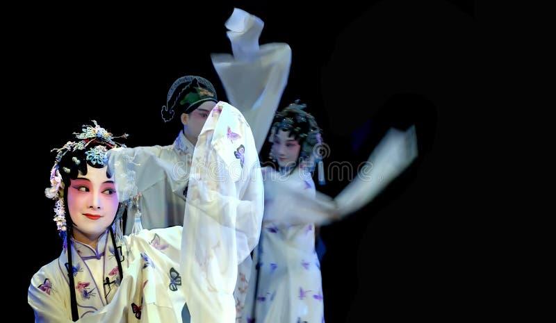 Ópera de KunQu: O pavilhão do Peony fotografia de stock