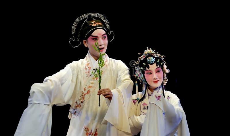 Ópera de KunQu: O pavilhão do Peony imagens de stock royalty free