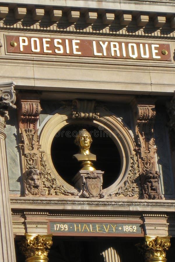 Ópera de Paris Garnier fotos de stock royalty free