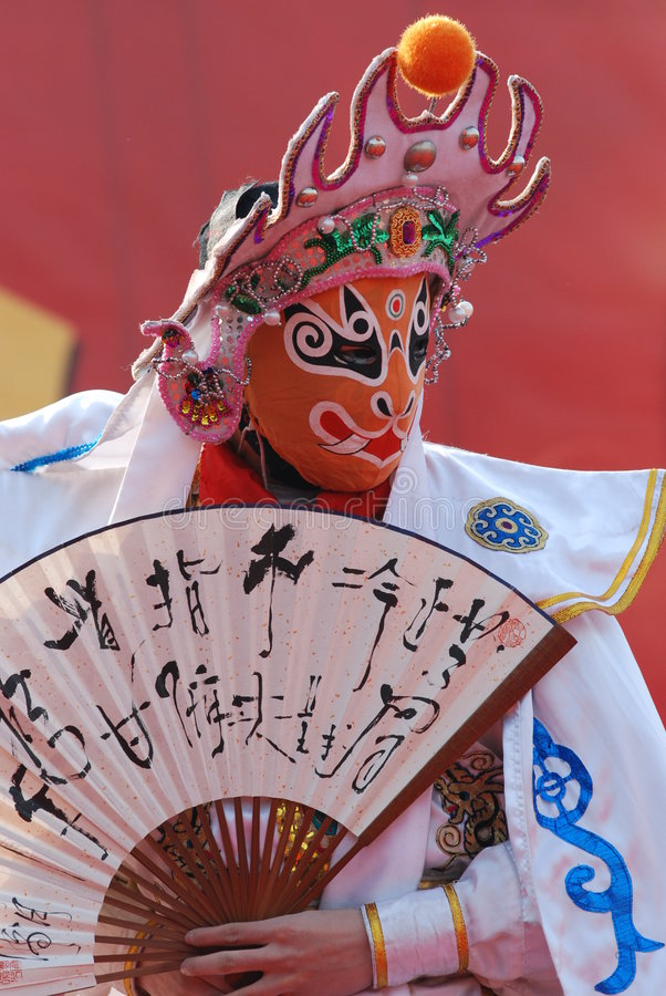 Ópera de Sichuan fotos de stock royalty free