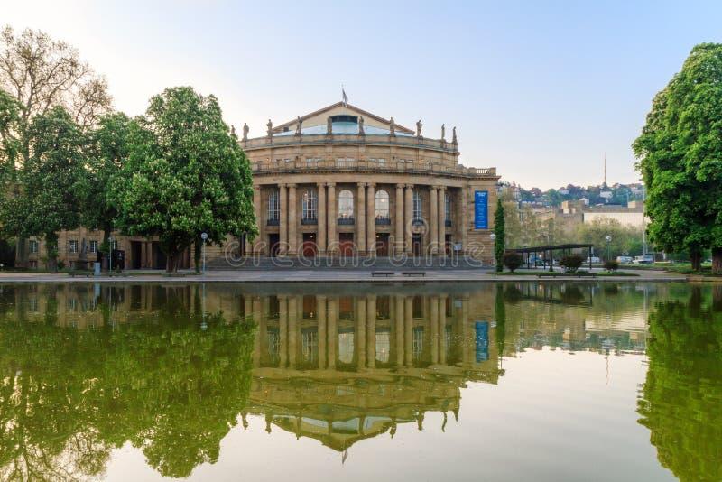 Ópera de Stuttgart foto de archivo libre de regalías