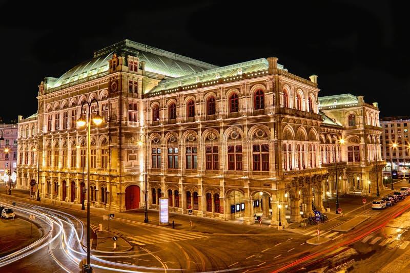 Ópera de Viena imagenes de archivo