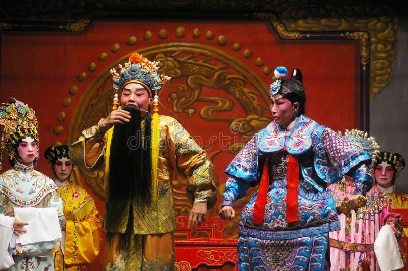 Ópera del Cantonese en Hong Kong imagen de archivo