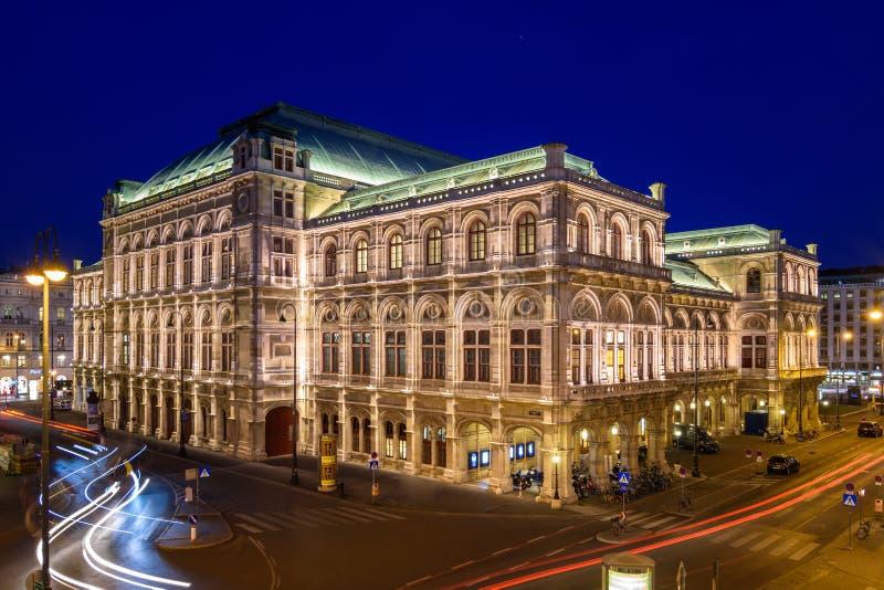Ópera del estado de Viena fotografía de archivo libre de regalías