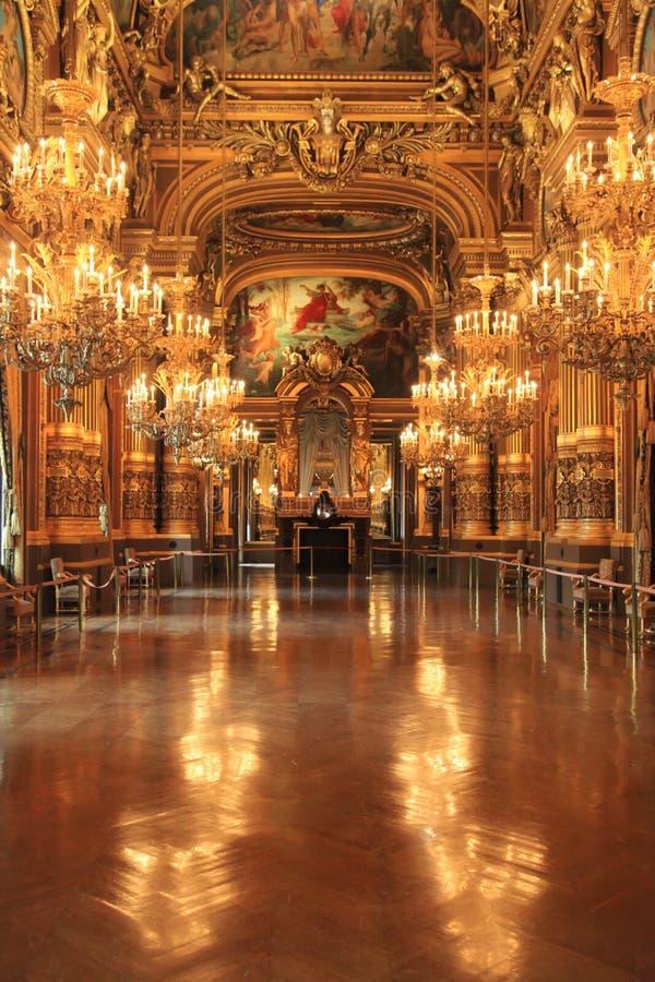 Ópera Garnier foto de stock