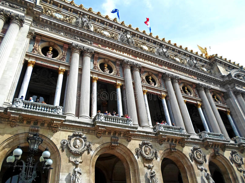 A ópera Garnier imagens de stock royalty free