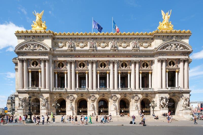 A ópera Garnier em Paris fotografia de stock royalty free