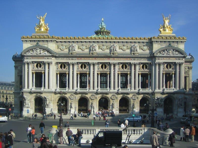 Ópera grande do Le fotografia de stock royalty free