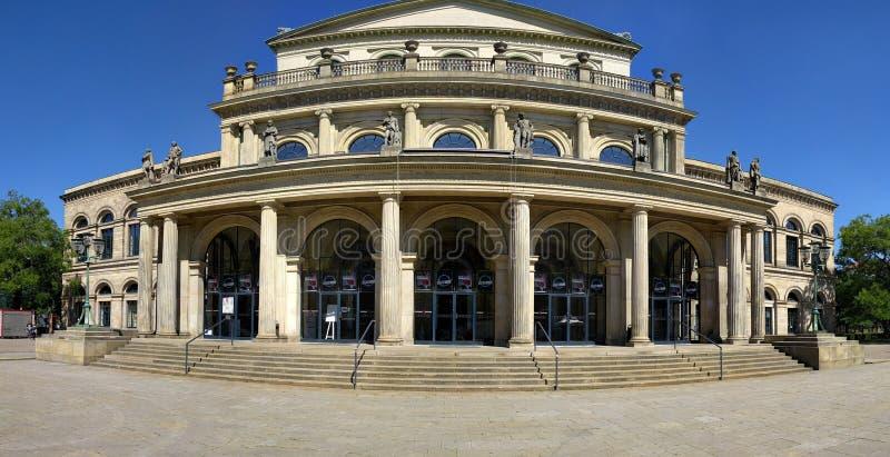 Ópera Hannover fotografía de archivo
