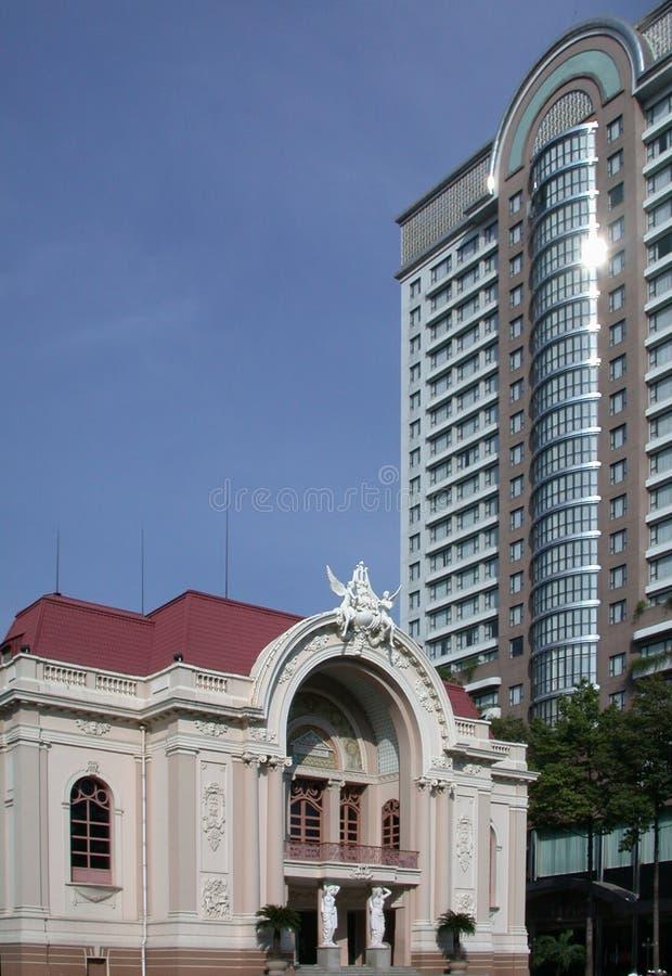 Ópera, Ho Chi Minh City fotos de stock