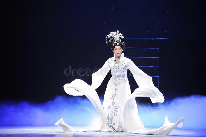 Ópera larga de manga-Jiangxi fotos de archivo
