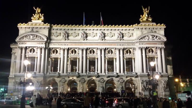 Ópera París imagen de archivo