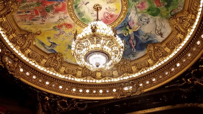Ópera París fotos de archivo libres de regalías
