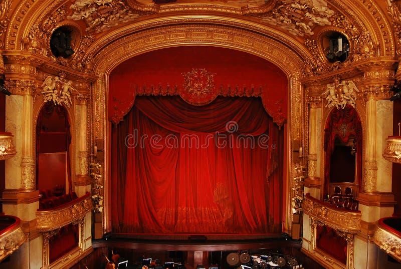 Ópera sueco real imagens de stock