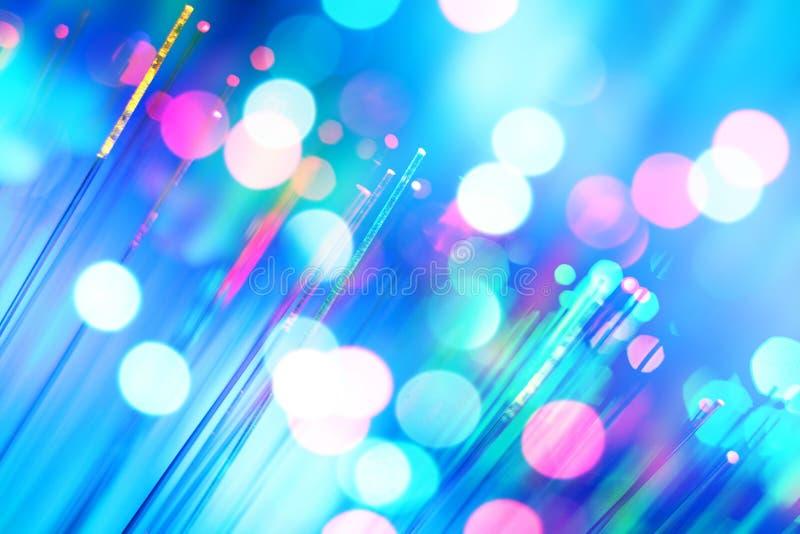 Óptica de fibras imagenes de archivo