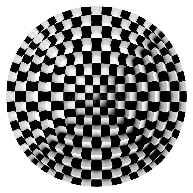 Óptico ilustração do vetor