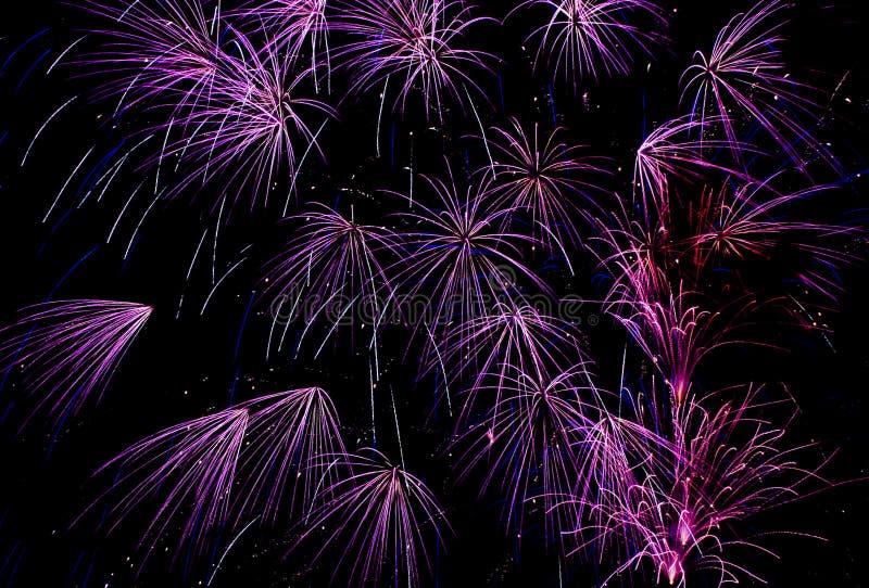 Órbita púrpura fotos de archivo libres de regalías