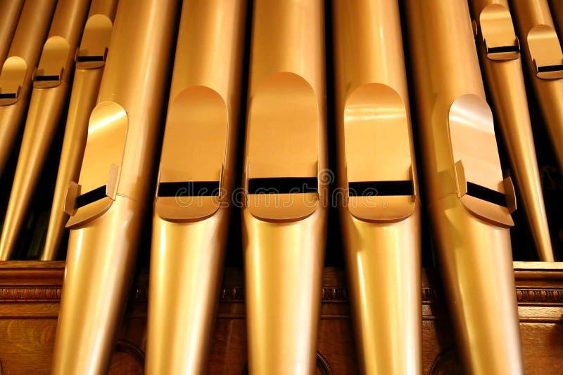 Órgão de tubulação imagens de stock