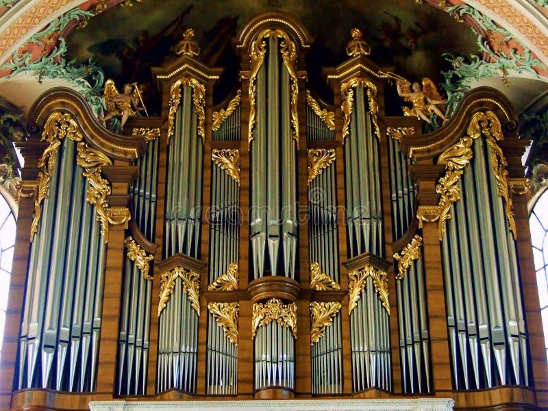 órgão, igreja, música, tubulação, catedral, instrumento, interior, religião, arquitetura, musical, tubulações, órgão de tubulação fotografia de stock
