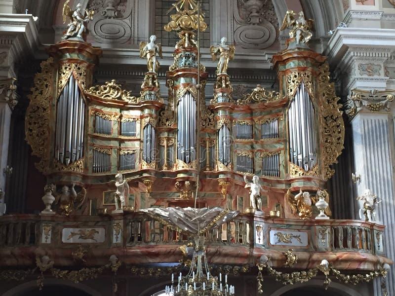 órgano foto de archivo