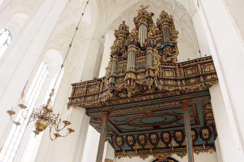 Órgano de Merten Friese imagen de archivo libre de regalías