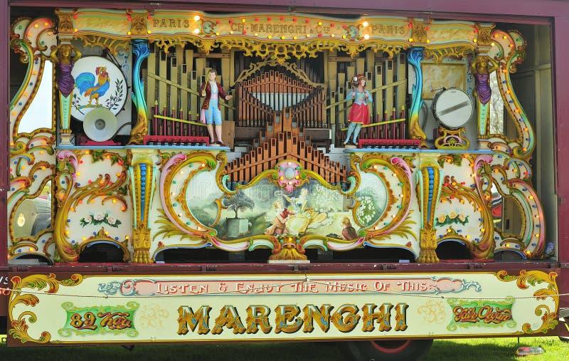 órgano dominante del parque de atracciones de 89 Marenghi fotografía de archivo libre de regalías