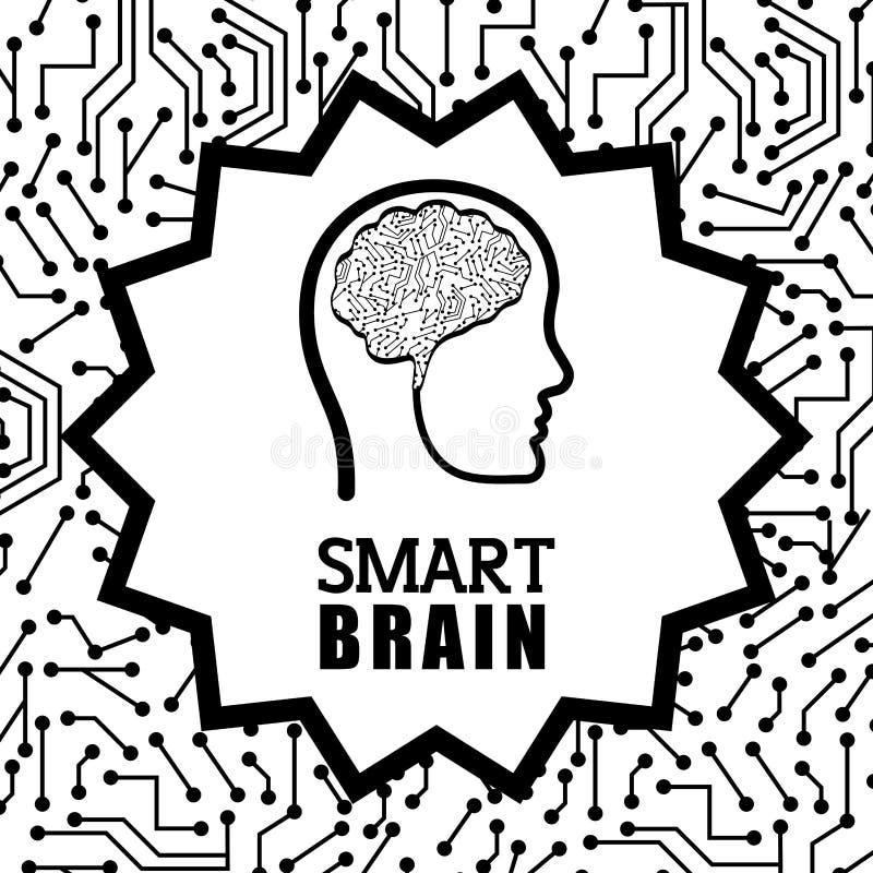 Órgano Humano Y Cabeza Humana Brain Icon Gráfico De Vector ...