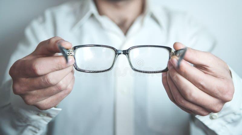 Ótico que mostra vidros fotos de stock