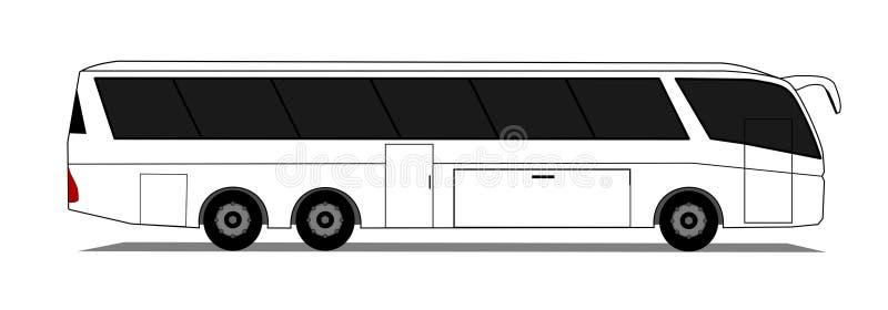 Ônibus ilustração stock