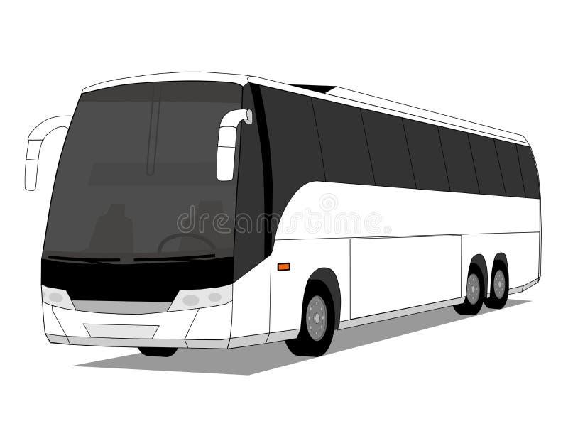 Ônibus ilustração do vetor