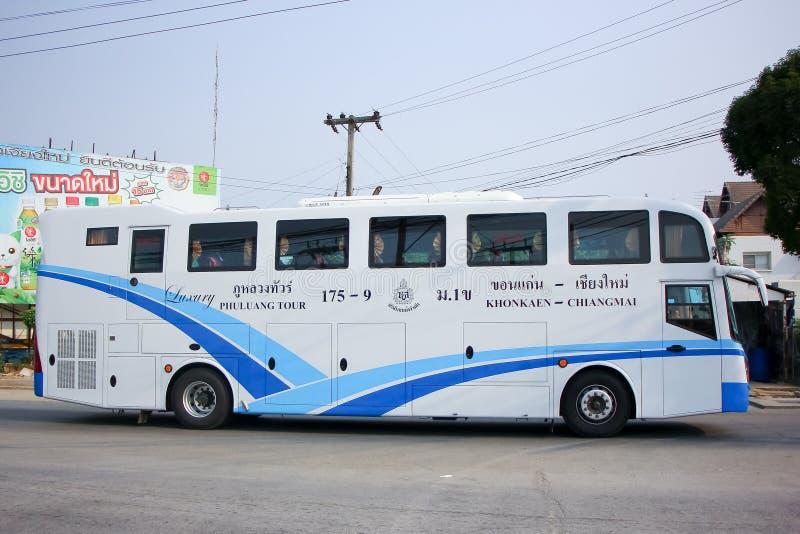 Ônibus da empresa da excursão de Phuluang nenhum 175-9 imagem de stock royalty free