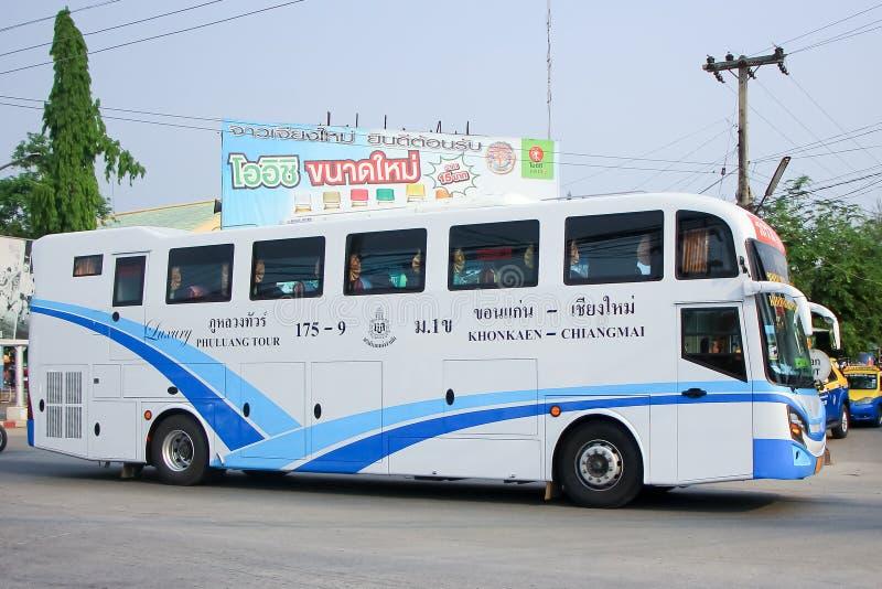 Ônibus da empresa da excursão de Phuluang nenhum 175-9 fotografia de stock