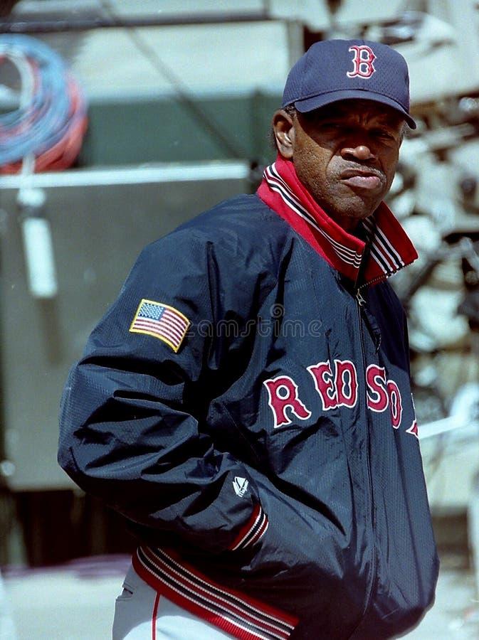 Ônibus de Boston Red Sox/harpista anteriores Tommy do jogador imagens de stock royalty free