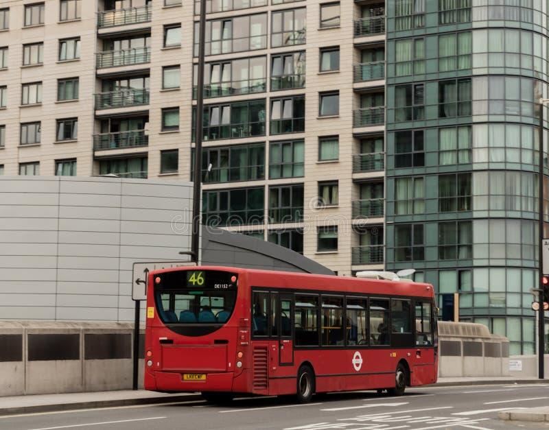 Ônibus de Londres fotografia de stock