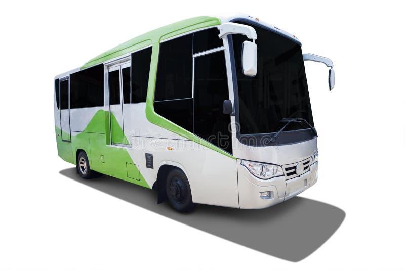 Ônibus novo para o transporte moderno fotos de stock royalty free