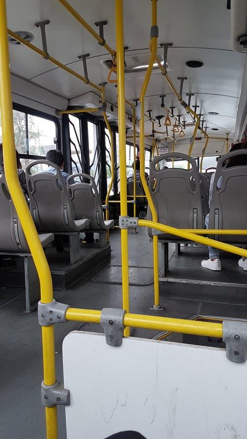 Ônibus vazio imagem de stock