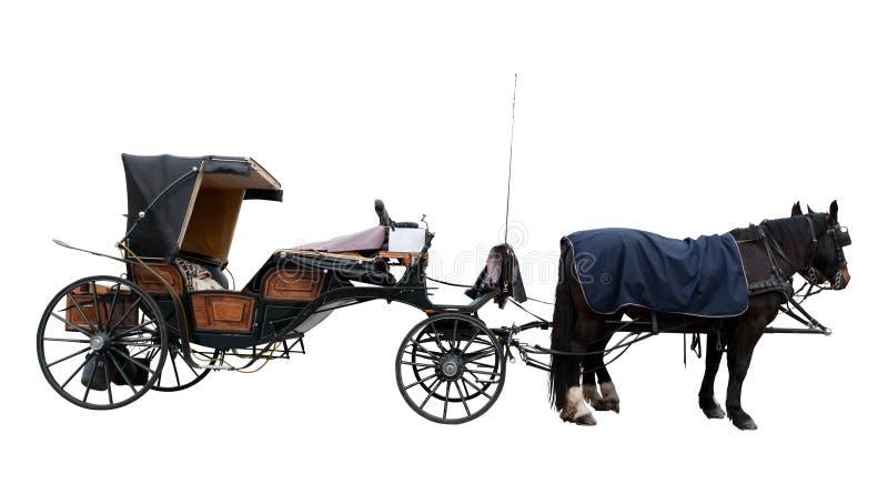 Ônibus velho do cavalo