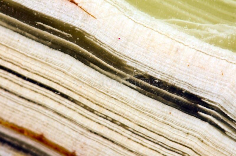 Ônix bonito Crystal Surface Macro Backgroun mineral natural foto de stock