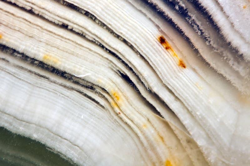 Ônix bonito Crystal Surface Macro Backgroun mineral natural imagem de stock royalty free