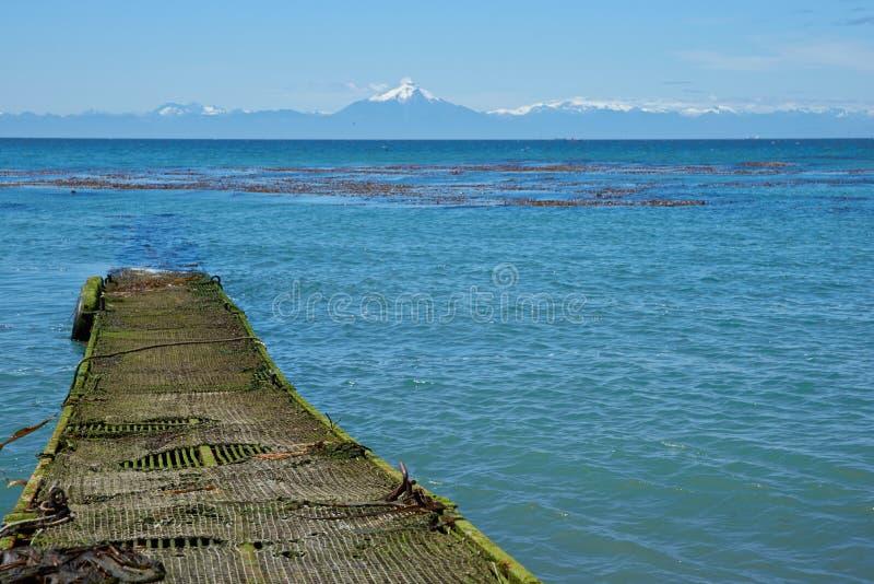 Ö av Chiloe arkivfoto