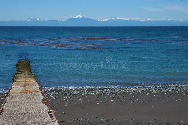 Ö av Chiloe royaltyfri bild